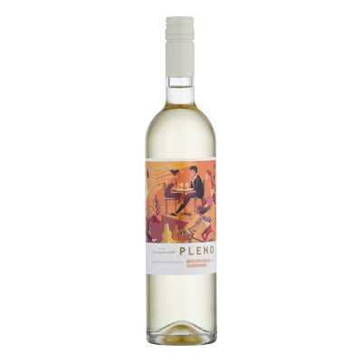 Vinho Branco Marzarotto Pleno Chardonnay Moscato Giallo