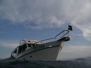 Foto Blog 1000 dias - Embarcação Titan