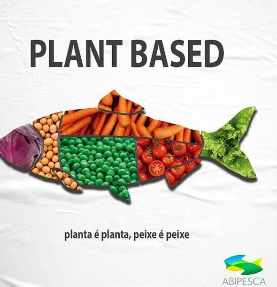 Abipesca contra opção à base de plantas